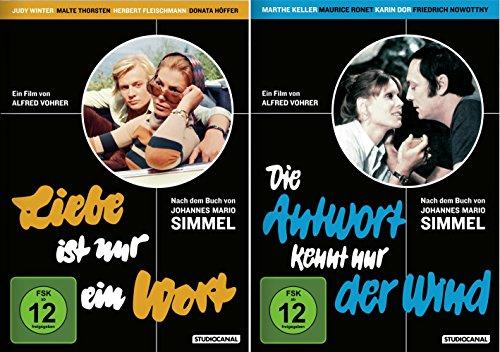 Johannes Mario Simmel - DuoSet | Liebe ist nur ein Wort + Die Antwort kennt nur der Wind [2er DVD-Set]