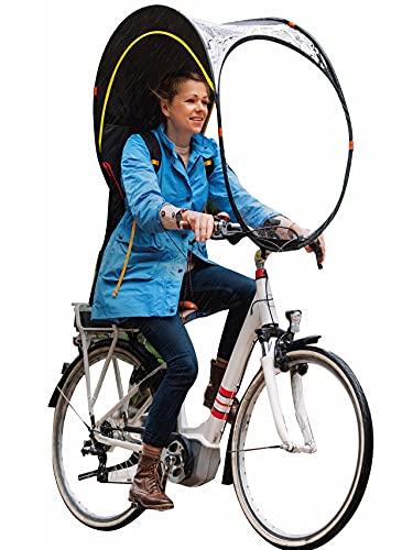Bub-up - Protezione antipioggia per bicicletta che sostituisce l'abbigliamento da pioggia (impermeabile,...
