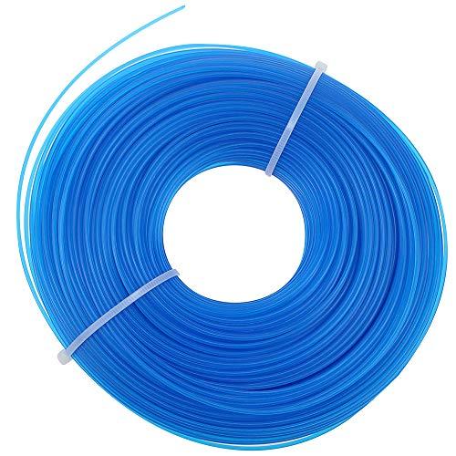 PLCatis 100 m Hilo de Corte para Desbrozadora - Hilo Nylon Desbrozadora 1,6mm Hilo de Cortacésped Hilo para Cortabordes y Desbrozadora Eléctricas