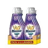 Mimosín Intense Suavizante Elixir Floral 52 Lavados, 1196 ml - Pack de 6