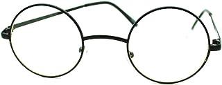 Retro Metal Round plain sunglasses Prince lens sun glasses