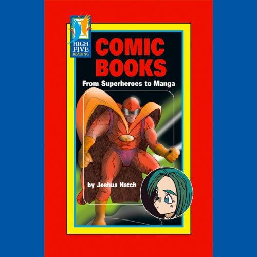 Comic Books audiobook cover art