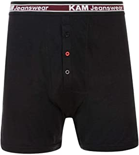 Kam Mens Big Size Jersey 3 Pack Boxer Shorts