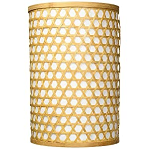 Oriental Furniture 12″ Desu Japanese Lattice Hanging Lantern