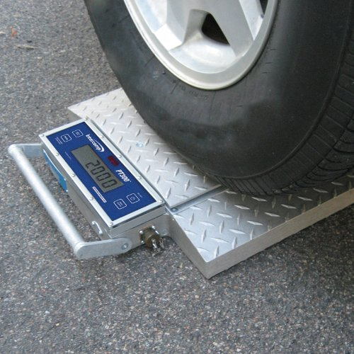Wheel Weigher Wheel Pad Scales Truck Scale Axle Scale Two Pads 20,000 lb