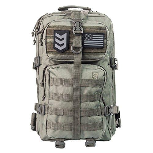 Mochila táctica de asalto de 3V Gear Velox II, sistema MOLLE compatible para equipo militar, mochila para excursiones al aire libre, senderismo