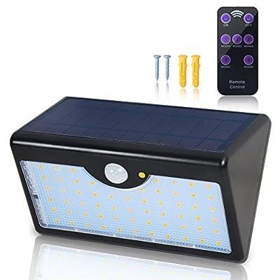 Dseap Bright 60 LED 1300 LM 5-Mode Outdoor Solar Light