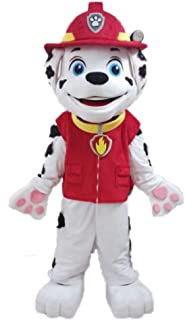 rubble paw patrol mascot