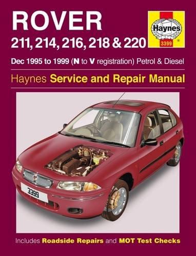 Rover 200 Series Petrol and Diesel: 1995 to 1999 (Haynes Service and Repair Manuals)