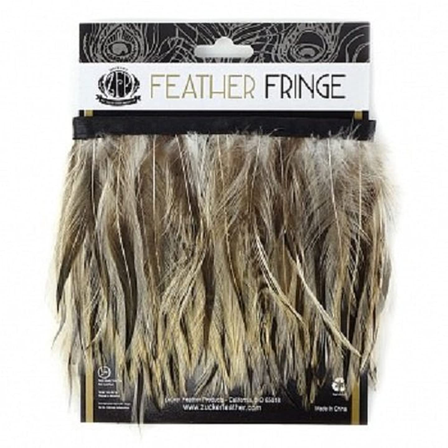 Zucker Feather Products Badger Natural Feather Hackle Fringe