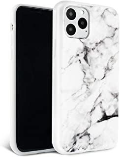 FELONY CASE iPhone 11 Pro Max Case - White Polished Marble - 360° Shock Absorbing, Anti-Scratch, Protects Screen – Stylish...