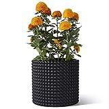 Potey Black Planter Pots