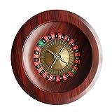 ZJY Rueda de Ruleta de 12 Pulgadas, Mesa giratoria Juegos de Casino - Dial Digital Grande fácil de Instalar y Transportar - para Adultos Entretenimiento Ocio