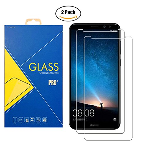 [2 Pack] Pellicola Vetro Temperato Compatibile Huawei Mate 10 Lite / Rhone / Honor 9i / Maimang 6 / Nova 2i - Schermo Antiurto Antigraffio