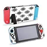 SUPNON Carry Case Compatible with Nintendo Switch, Ultra Slim Hard Shell, Protective Carrying Case for Travel - Compass Isolated Symbol Set Design12026