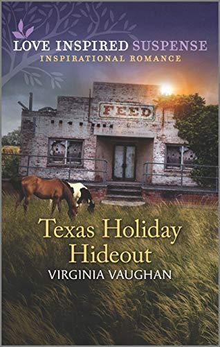 Texas Holiday Hideout (Cowboy Lawmen Book 2) by [Virginia Vaughan]