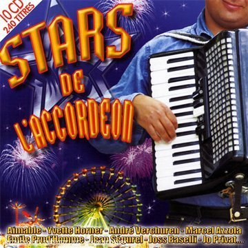 Coffret 10 CD :  Stars De L\'Accordeon