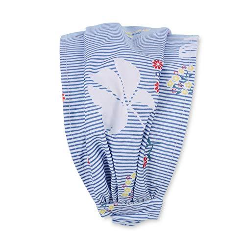 Sterntaler Haarband für Mädchen mit Blumen-Motiven, Alter: ab 7 Jahre, Größe: 57, Blau (Himmel)