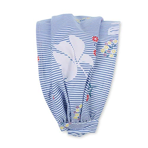 Sterntaler Haarband für Mädchen mit Blumen-Motiven, Alter: 4-5 Monate, Größe: 41, Blau (Himmel)