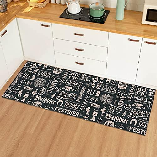Casa cucina tappeto soggiorno antiscivolo ingresso tappetino camera da letto soggiorno porta mat...