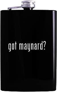 got maynard? - 8oz Hip Alcohol Drinking Flask, Black