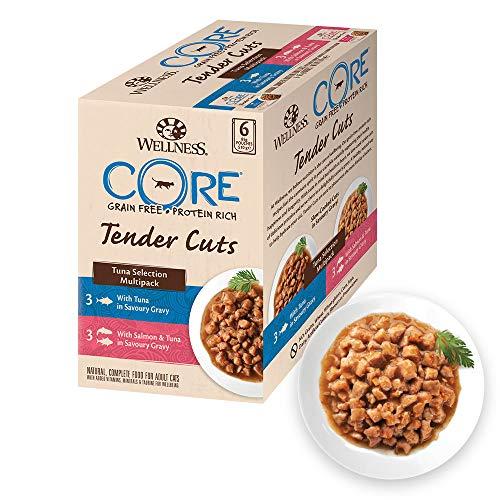 Wellness CORE Tender Cuts Wet Cat Food / Natural / Grain-Free / Complete -...