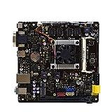 BEROVE Fit for ASUS N3050-A / K20CE / DP_MB Placa Base MIORON DDR3 NM10 4G DVI Placa Base para Juegos Pc