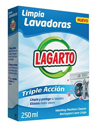 Lagarto Limpia Lavadoras, 250 ml, Pack de 10