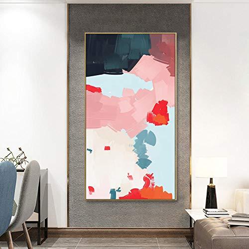WOMGD® Abstracte aquarel blokken puzzels, educatief spel houten puzzel 1000 stuk, voor keuken kamer restaurant koffie bar decor