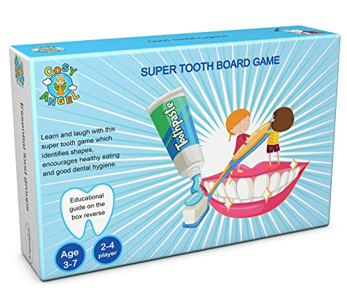 COSY ANGEL Super Tooth Educational Board Game for Toddlers Learning Games for Children Game for Kids
