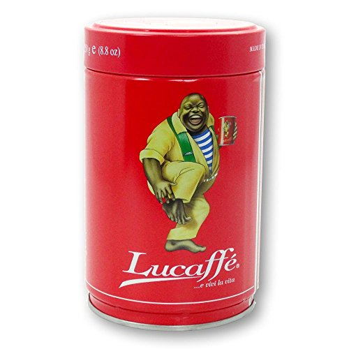 Lucaffe Kaffee Espresso - Classic Selezionata, 250g Bohnen Dose