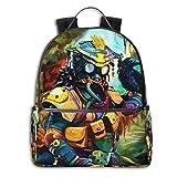 Apex Legends Game Backpack, DISINIBITA Durable Back to School Bag Laptop Bag Daypack for Kids Adult (Apex Legends B)