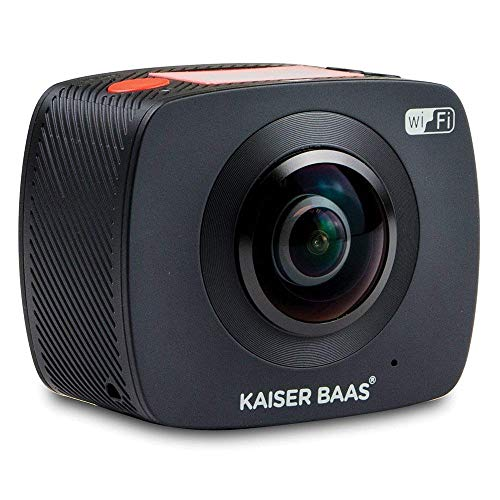 Kaiser Baas cámara de acción–Negro, 0 megapixels, 0.1 kilograms, Color Negro, X360
