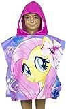 Hasbro My Little Pony: Badetuch /Bademantel / Kapuzen Poncho / Strandtuch für Kinder