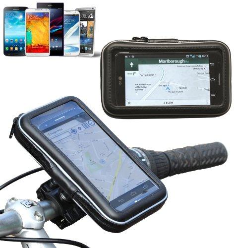 Navitech Wasserfeste Fahrrad und Motorrad Halterung Montierung und Case für das Sony Xperia Z1 / Sony Xperia Z / Sony Xperia C