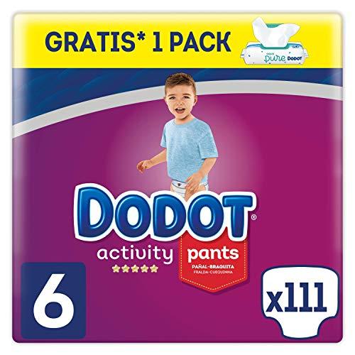 Dodot Activity Pants - Pañal-Braguita, 15+kg + Dodot Aqua