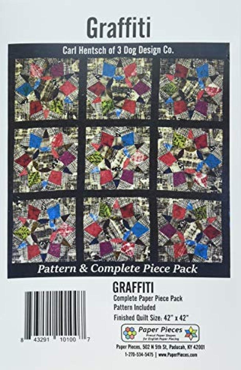 Paper Pieces ACRGRAFITTI Acrylic Fabric Cutting Template for Graffiti Project 7pc None