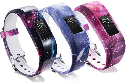 eFithy Ersatz-Armband für Garmin Vivofit 3 / Vivofit Jr, 3 Sternenhimmel