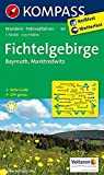 KOMPASS Wanderkarte Fichtelgebirge - Bayreuth - Marktredwitz: Wanderkarte mit Aktiv Guide und Radrouten. GPS-genau. 1:50000 (KOMPASS-Wanderkarten, Band 191)