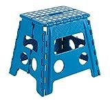 Arregui TB-032-A Taburete Plegable de 32 Cm de Altura, Azul, 320X290X220 Mm