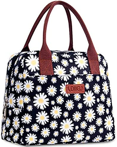 DIIG Lunch Box for Women Insulated Lunch Bags for Women Large Cooler Tote For Work Floral Reusable product image