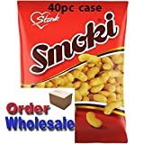 Smoki Peanut Flavored Snacks 50g bags (40pc case) Wholesale By:Egourmet