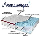 Arensberger ® Deluxx 9 Zonen Taschen-Federkern Matratze mit 3D-Memory Foam, Höhe 30 cm, 180 x 200 cm, Visco & Kaltschaum - 7