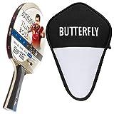 Butterfly Timo Boll - Juego de palas de ping pong y funda