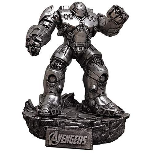 zxwd Avengers 3 Iron Man Armor Toys Imitación Modelo de Metal Estatua Decoración Animación Virtual Colección de Arte Regalos extraíbles de Alta Gama, Altura Total 32cm, Peso 2.5kg