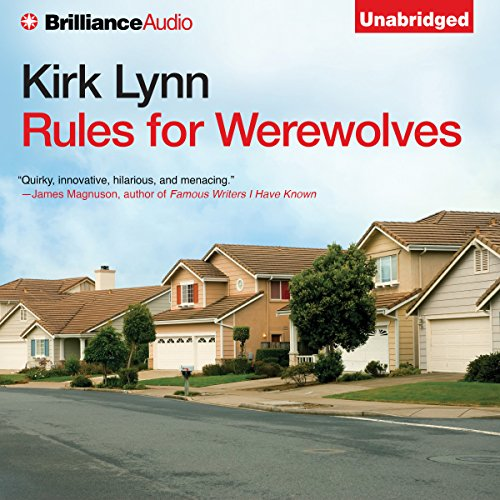 Rules for Werewolves audiobook cover art