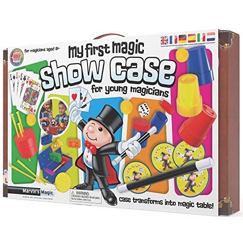 Marvin's Magic - Kids Magic Set - My First Magic Show Case for Young...