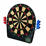 Franklin Sports Electronic Dartboard — Ready to Play Digital Dartboard — Soft Tip Darts — 13.5""