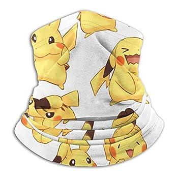 MoBetter Tour de cou multifonction Pokémon unisexe anti-poussière en microfibre pour sports de plein air