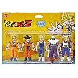 Bandai - Dragon Ball Z - Set de 5 figurines 1er combat - Héros 1 - Super Saiyan Goku, Goku, Super Saiyan Vegeta, Piccolo, Super Saiyan Gohan et Super Saiyan Trunks - 34501